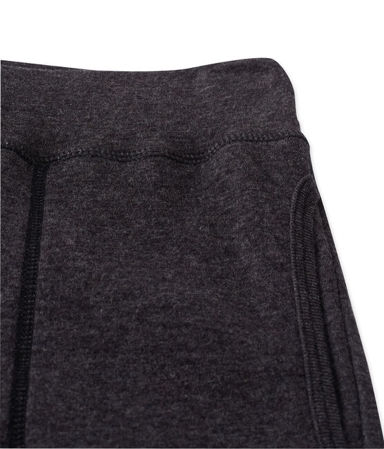Women's leggings in an extra-fine tube knit City Chine grey