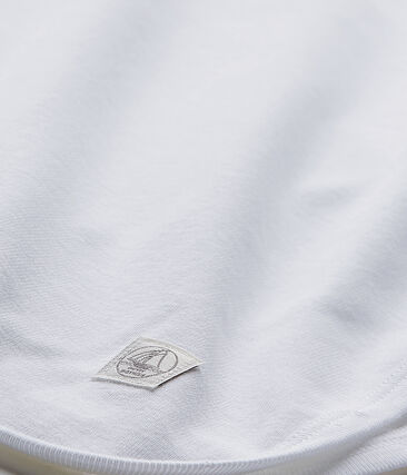 Baby's unisex sheet Ecume white