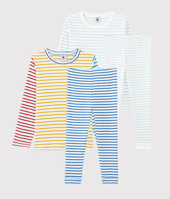 Boys' Cotton Pyjamas - 2-Pack . set