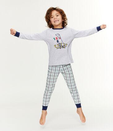 Boys' Tube Knit and Rib Knit Pyjamas