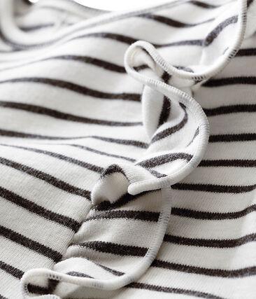 Baby girl's sailor stripe dress
