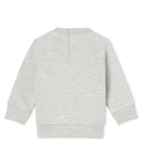Baby Boys' Fleece Sweatshirt Beluga grey