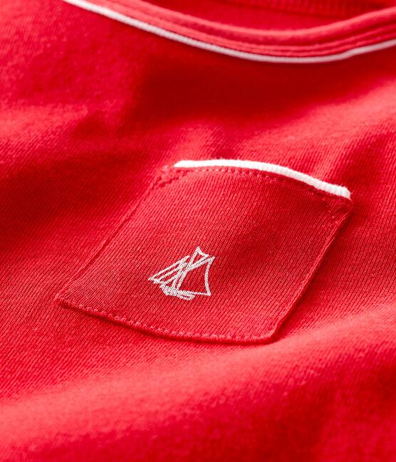 Tee shirt manches courtes bébé garçon Terkuit red