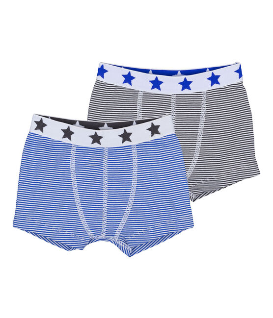 Pack of 2 boy's boxers . set