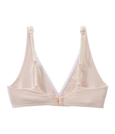 Women's Triangle Bra Fleur pink