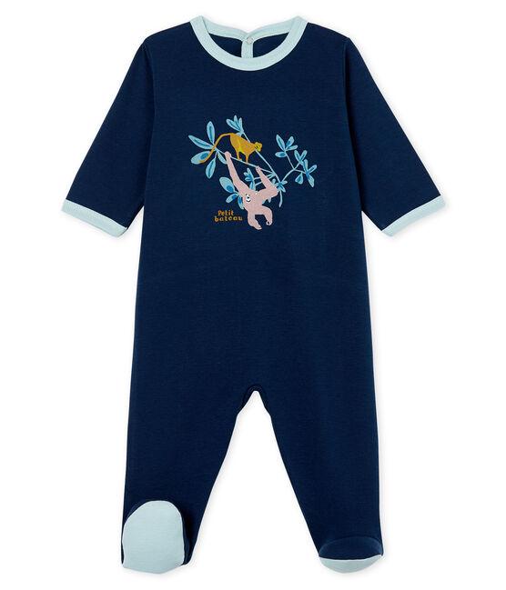 Baby Boys' Sleepsuit Haddock blue