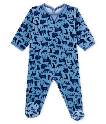 Baby boy's sleepsuit