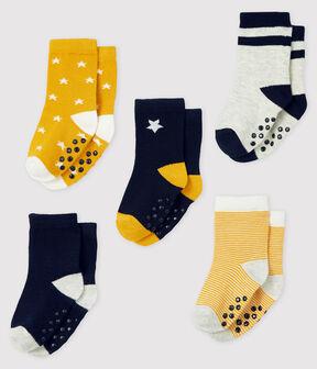 Pack of 5 pairs of baby socks . set