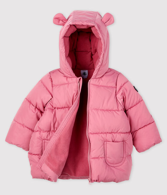 Baby girl's plain quilted puffer jacket CHEEK