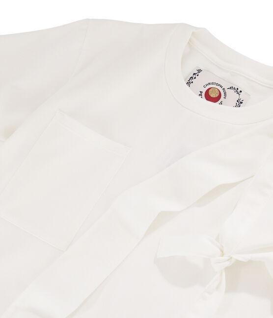 Women's/Men's T-shirt Christoph Rumpf x Petit Bateau Marshmallow white