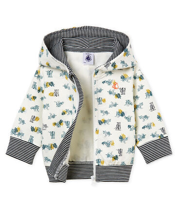 Baby boys' print hooded zip up Sweatshirt