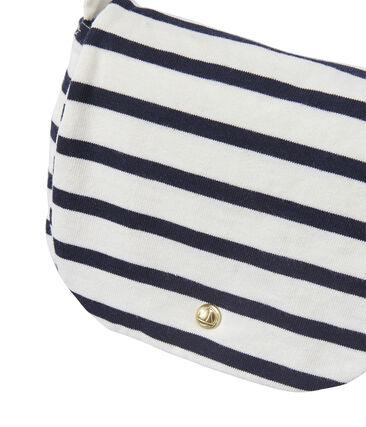 Girl's striped shoulder bag