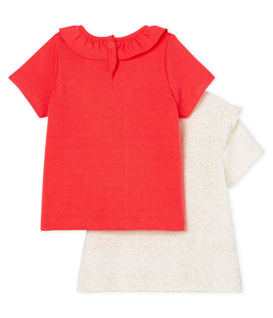 Baby girls' t-shirt . set