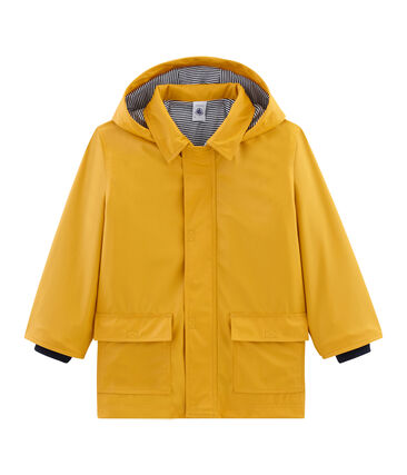 Unisex Children's Raincoat Boudor yellow