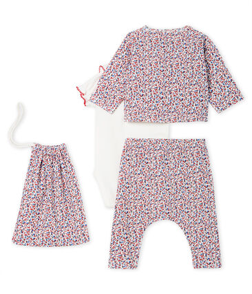 Baby girls' print clothing - 4-piece set . set