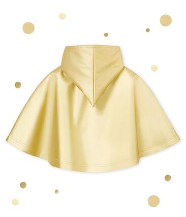 Mixed baby's rain cape Dore yellow