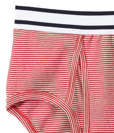 Men's milleraies-striped cotton underpants