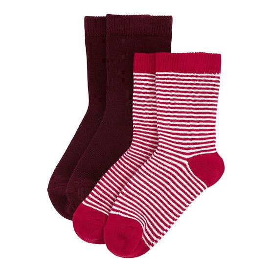 Set of Two Pairs of Socks . set