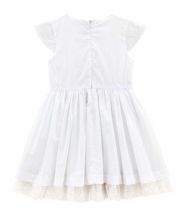 Girls' Formal Dress Ecume white