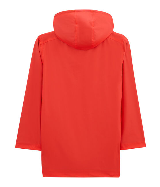 Iconic women's raincoat Brulant red