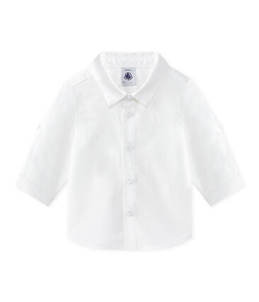 Baby boys' turn-up shirt