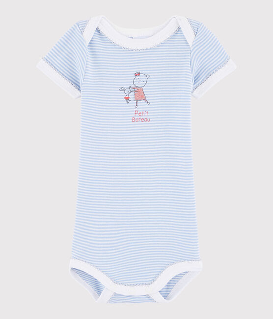 Baby Girls' Short-Sleeved Bodysuit ISIS/LAIT