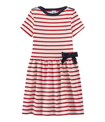 Girl's striped dress