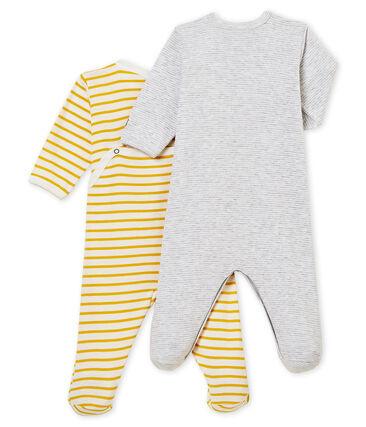 Baby boy's sleepsuit duo