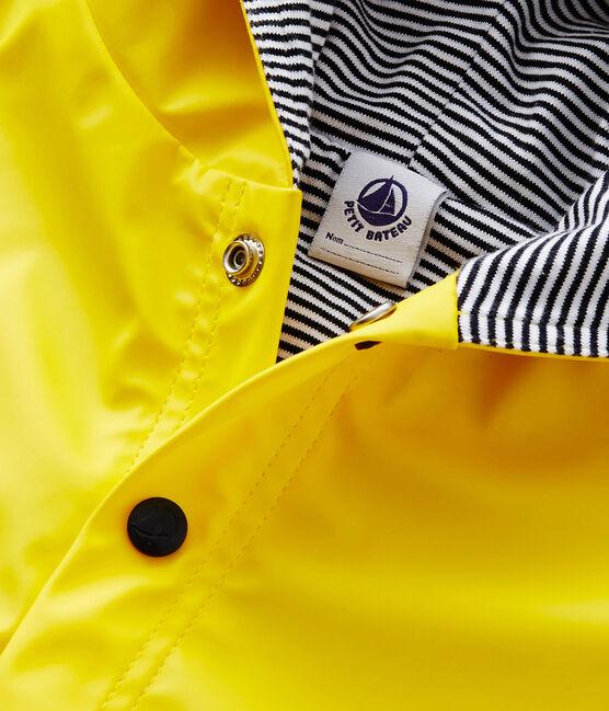 Baby's plain rain cape Jaune yellow