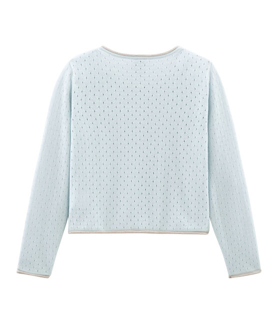 Girls' Cardigan Bocal blue
