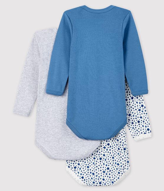 Baby Boys' Long-Sleeved Bodysuit - 3-Piece Set . set