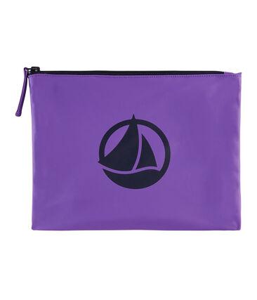Plain coloured coin purse Real purple