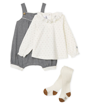 Baby Girls' Ribbed Clothing - 3-piece set . set