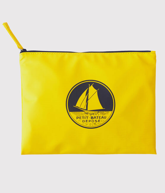 Iconic yellow clutch bag Jaune yellow