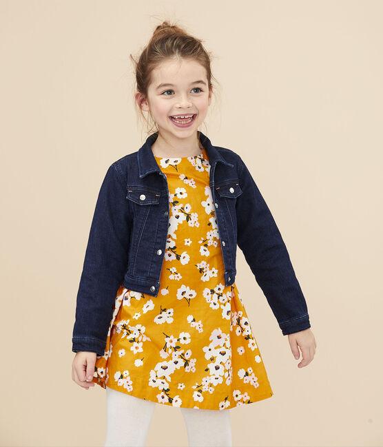 Girls' Denim Jacket Denim Bleu Fonce blue