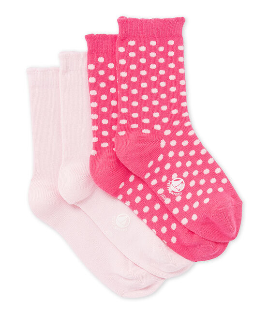 Set of girls' socks . set