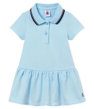 Baby girls' bodysuit/dress Bocal blue