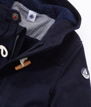 Boys' Duffel Coat Smoking blue