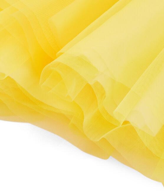 Girls' Skirt Eblouis yellow
