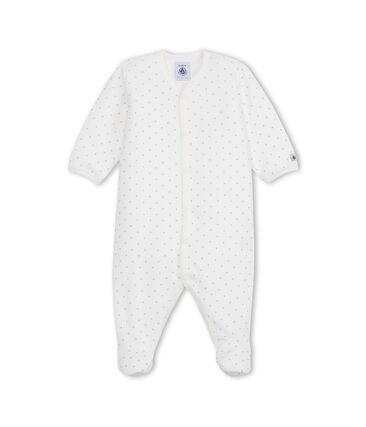 Unisex baby's printed velour sleeper