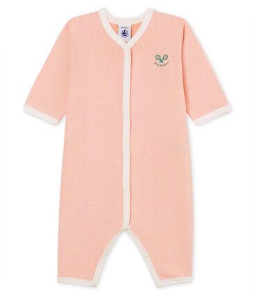 Baby Girls' Sleepsuit Rosako pink / Marshmallow Cn white
