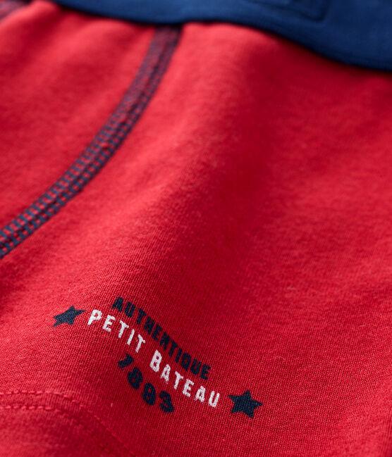 Boys' boxer shorts Terkuit red