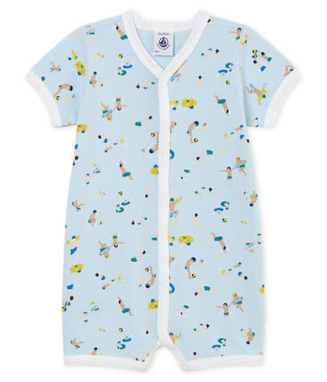 Baby Boys' Shortie Toudou blue / Multico Cn white