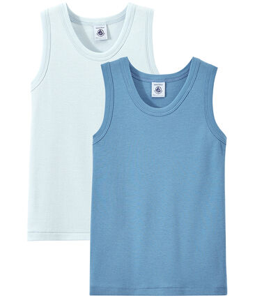 Set of 2 boys' tank tops . set