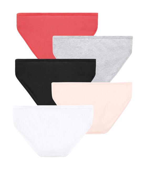 Weekly pack of 5 women's panties . set