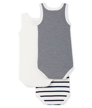 Unisex Babies' Sleeveless Bodysuit - Set of 3