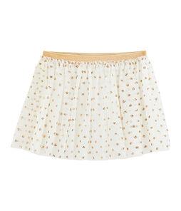 Girls' Skirt Marshmallow white / Or yellow