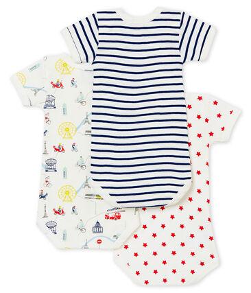 Baby Boys' Short-Sleeved Bodysuit - 3-Piece Set . set