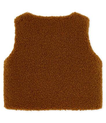 Baby Boys' Sleeveless Jacket Cocoa brown