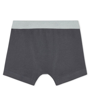 Boys' boxer shorts Maki grey
